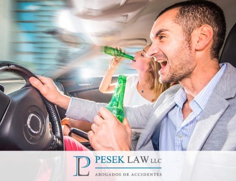 Abogado de Accidentes por Conductor Intoxicado, No alcohol | Pesek Law