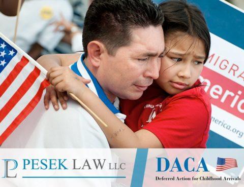 Abogado de Casos de Inmigración Situación DACA, Omaha | Pesek Law