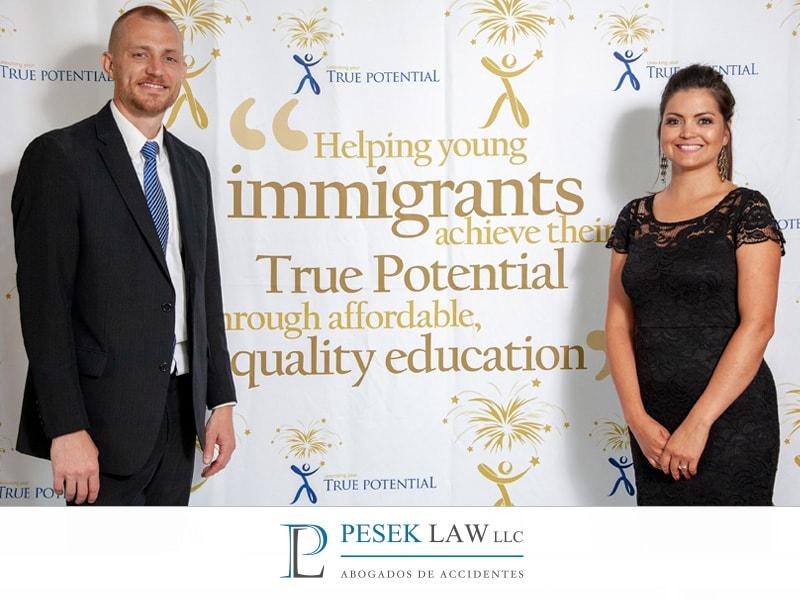 True Potential, 5ta cena anual Beca | Beca para Inmigrantes | Pesek Law