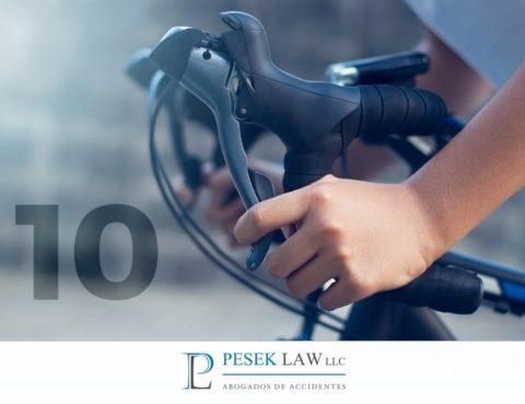 Abogados de Accidentes en Bicicleta, Decálogo buen ciclista | Pesek Law