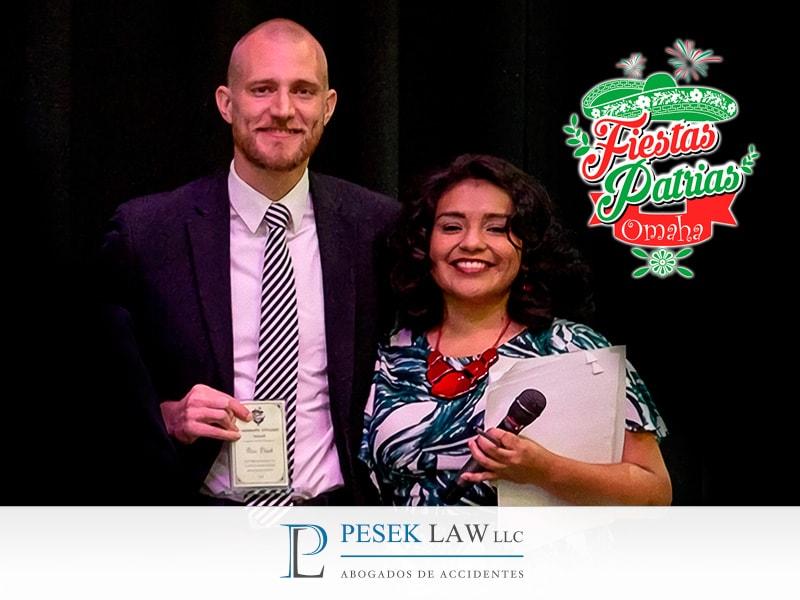 Ross Pesek y reconocimiento en Mes de la Herencia Hispana | Pesek Law