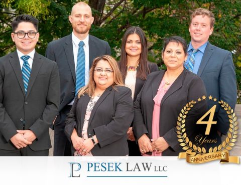 Pesek Law cumple 4 años | Abogados de Accidentes | Pesek Law