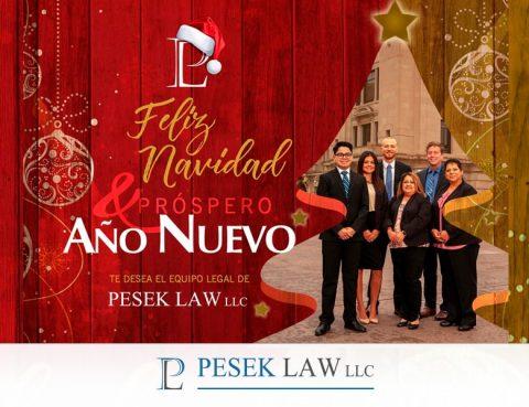 Pesek Law agradece un año más | Abogados de accidentes en Omaha