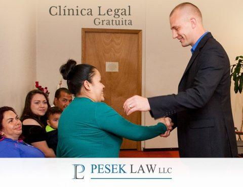 Clínica Legal Gratuita ¡Acércate! - Abogados en Omaha | Pesek Law
