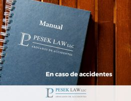 Abogado de Accidentes - Manual en caso de accidente | Pesek Law