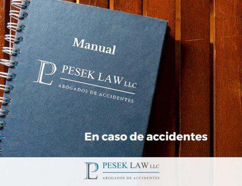Abogado de Accidentes - Manual en caso de accidente | Pesek Law
