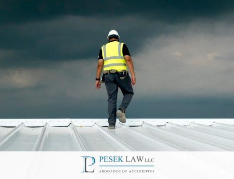 ¿Qué hacer en caso de accidente de roofing?