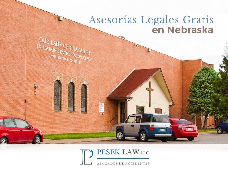 ¿Asesorías legales gratis en nebraska?