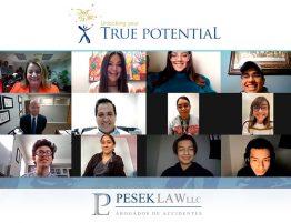 Cónsul Titular de México felicita a ganadores de Beca True Potential